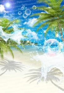 常夏ビーチ