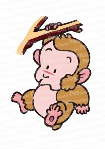 イラスト・猿