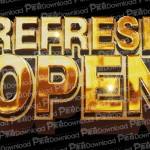 REFRESH OPEN