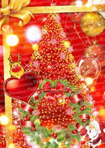 クリスマスな背景
