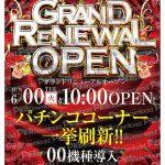 GRAND RENEWAL OPEN